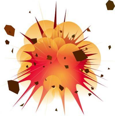 爆発 画像