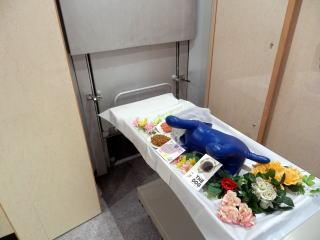 1体での個別火葬