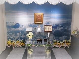 告別室 お別れ室 祭壇
