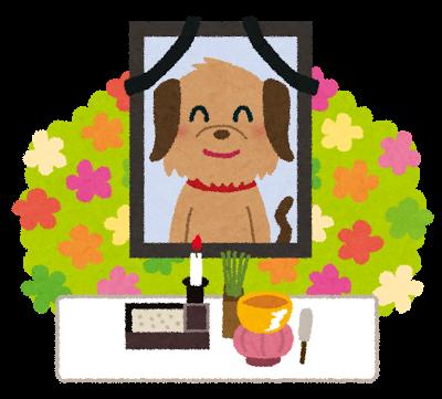 画像 ペット 犬 お葬式