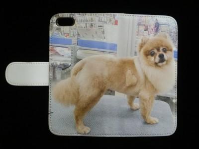 スマホカバー手帳2(ケース)犬