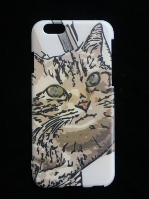 スマホカバー(ケース)猫5