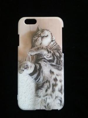 スマホカバー(ケース)猫