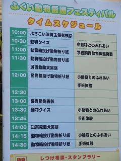 平成27年度 福井県動物愛護ふれあいフェスティバル19