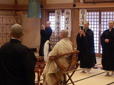 御誕生寺さん 猫の日 2016.2.22 供養祭2