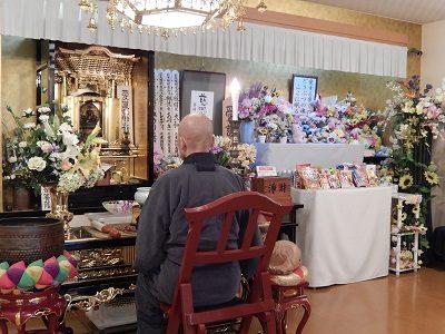2016.12 禅林寺、金剛院ご住職週1回のご供養