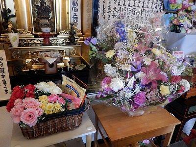 2017.5 敦賀市道端様アビちゃん供花