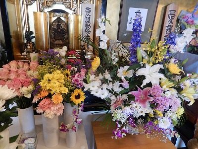 2017.5.21 年供養祭 供花