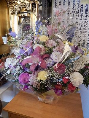 2017.5 敦賀市道端様アビちゃん供花2