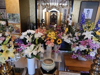 2017.5.21 年供養祭 供花2