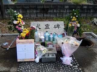 2017 JKC動物霊園 動物慰霊祭7